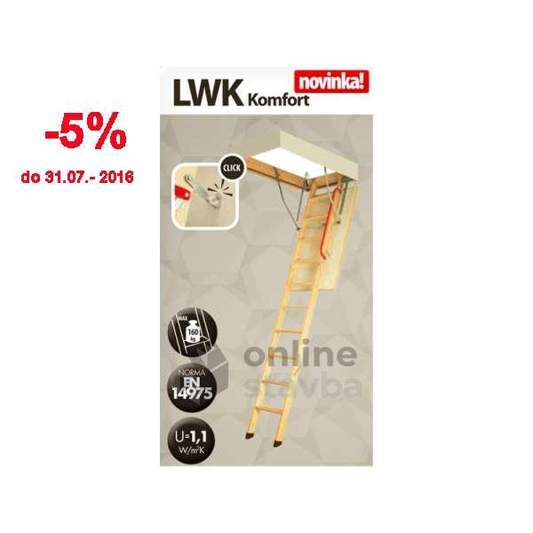 Podkrovné schody Fakro LWK Komfort