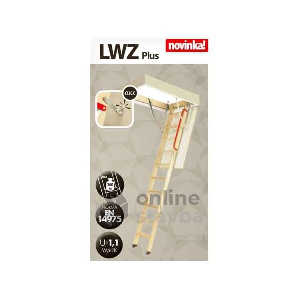 Podkrovné schody Fakro LWZ Plus