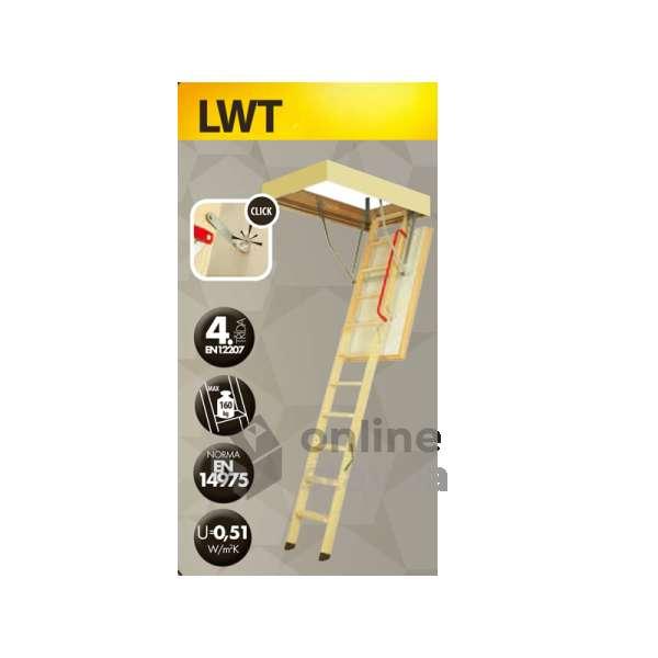 Podkrovné schody Fakro LWT