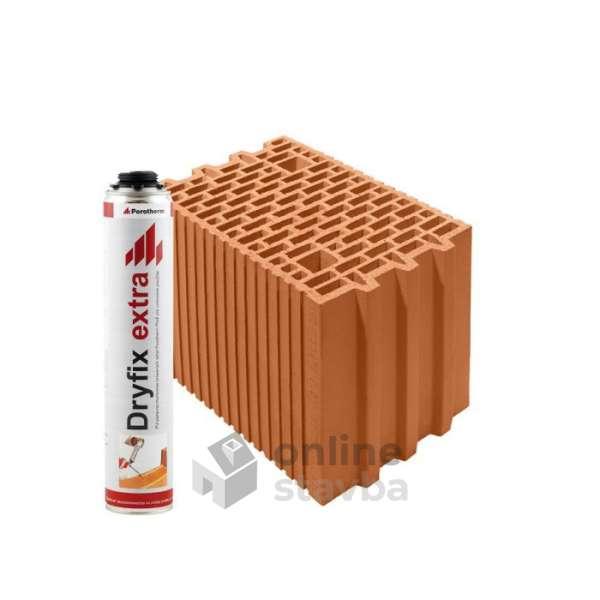 Tehla Porotherm Komfort 25 Profi Dryfix