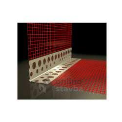 Rohová (kombi) lišta hliníková - ALU (2,5bm, 100x100)