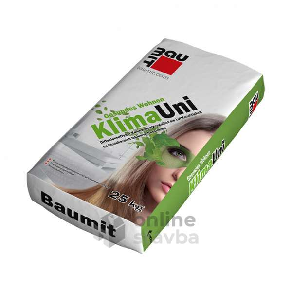 Baumit Klima Uni /ručná omietka /