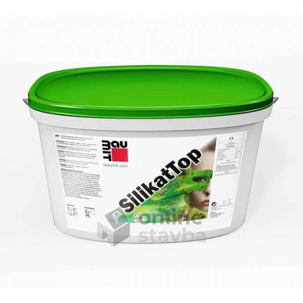Fasádna omietka Baumit SilikatTop 1,5mm K